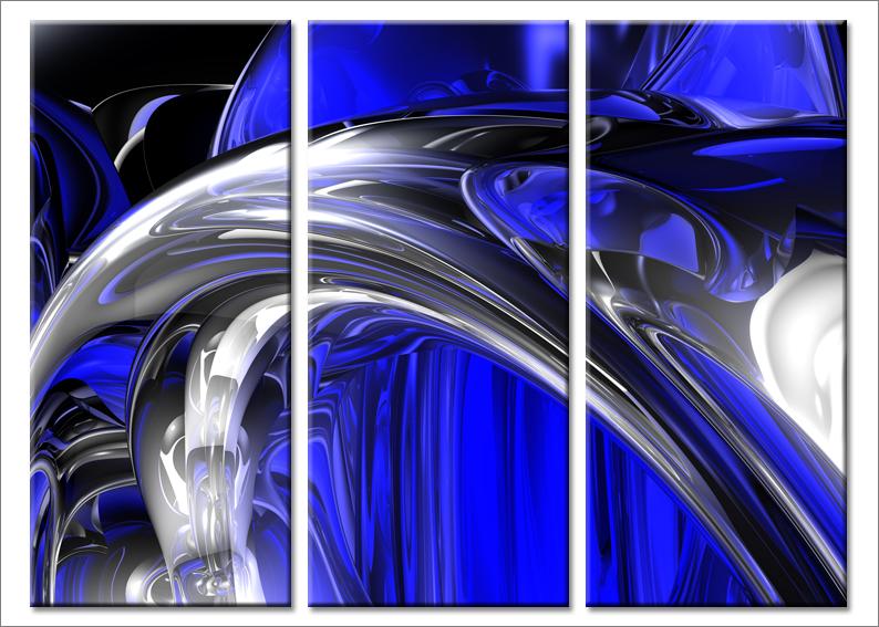 Quadri astratti Elegant design III stampe su tela canvas