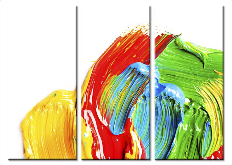 Quadri astratti Fluid stampe su tela canvas